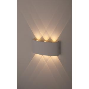 WL12 WH Подсветка ЭРА Декоративная подсветка светодиодная ЭРА 6*1Вт IP 54 белый (20/800)