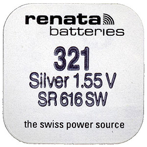 Renata R321 SR616 (10/100/10500)