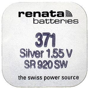Renata R371 SR920 (10/100/10500)