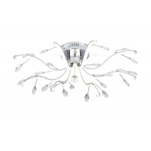 6001-108 Rivoli Люстра Radiante PL8 CR 54W LED  4000K (84)