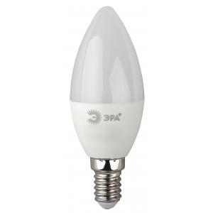 LED B35-7W-827-E14 ЭРА (диод, свеча, 7Вт, тепл, E14), (10/100/2800)