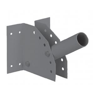 SPP-AC2-0-300-048 ЭРА Кронштейн для уличного светильника с перемен углом 300*150*120  d48mm (10/400)