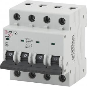 ЭРА Pro Автоматический выключатель NO-900-66 ВА47-29 4P 63А кривая C (3/45/945)