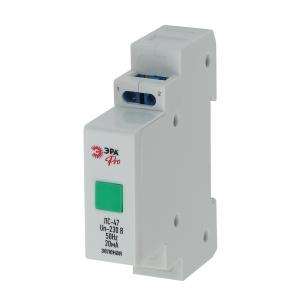 ЭРА Pro NO-902-178 Лампа сигнальная ЛС-47 (зеленая) (120/6720)
