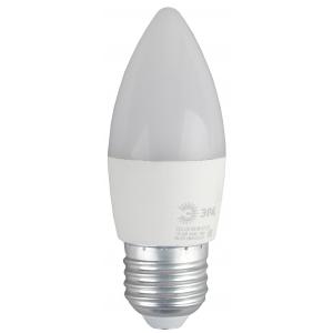 ECO LED B35-8W-827-E27 ЭРА (диод, свеча, 8Вт, тепл, E27) (10/100/3500)