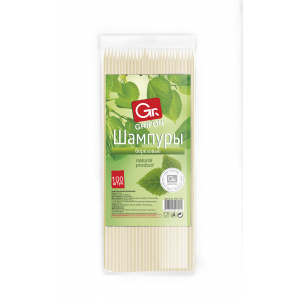 Grifon Шампуры деревянные 200 мм в упаковке, 100 шт. (100/5000)