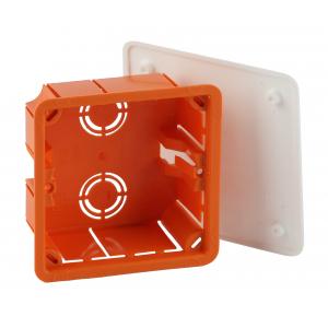 ЭРА Коробка распаячная KRT 92х92х45мм для твердых стен, саморез., крышка  IP20 (126/1134)