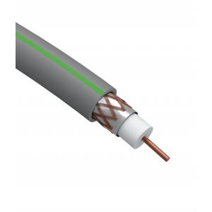 ЭРА Кабель коаксиальный SAT 703 B, 75 Ом, Cu/(оплётка Cu 75%), нг(А)HF, цвет серый, бухта 100 м (4/9