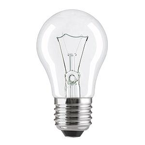 65844 General Electric Брест A50 лон  60W 230V E27 CL, OT&60A1/CL/E27 230V (100/3600)