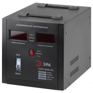 СНПТ-5000-РЦ ЭРА Стабилизатор напряжения переносной, ц.д., 90-260В/220В, 5000ВА (24)
