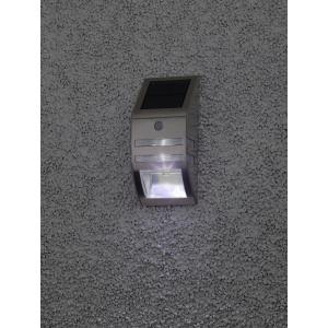 ERFS012-26 ЭРА Фасадный светильник Хром, на солнечной батарее, 3LED, 50lm (12/864)
