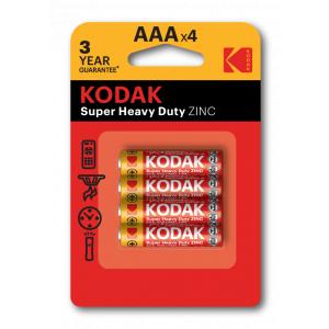Kodak R03-4BL EXTRA HEAVY DUTY [K3AHZ-4] (48/240/54000)