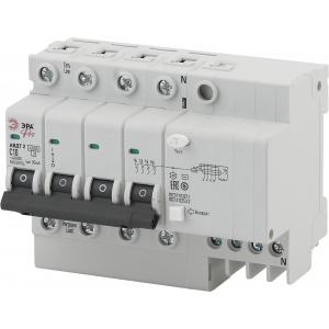 ЭРА Pro Автоматический выключатель дифференциального тока NO-902-148 АВДТ2 C63А  30мА 3P+N тип AC (2