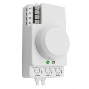 MD 202 Датчик движения ЭРА Датчик движения микроволновый белый, 1200Вт, 360 гр.,8М,IP20, (100/2800)