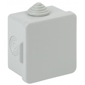 ЭРА Коробка распаячн. открытой установки КОР 65х65х50мм с гермовводами 4 вх. IP54 (150/2400)