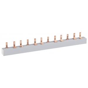 ЭРА NO-222-04  Шина соединительная типа PIN для 2-ф нагр. 63А 54 мод. (10/50/1000) (10/50/1000)