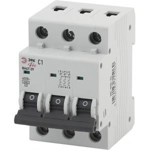 ЭРА Pro Автоматический выключатель NO-900-36 ВА47-29 3P 2А кривая C (4/60/1080)