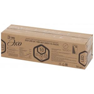 ECO LED GX-10W-827-GX53 (10-PACK) ЭРА (диод, таблетка, 10Вт, тепл, GX53) (10/100/5600)