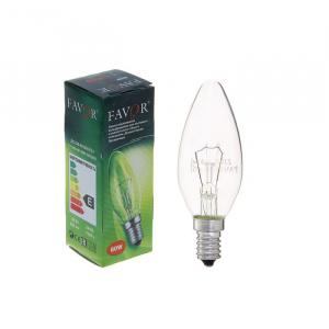 Favor ДС (B36) 60W E14 230V свечка, прозр. (100/6000)