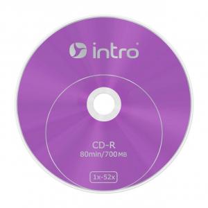 Intro СD-R INTRO 52X 700MB  Bulk 100 (100/500/22500)
