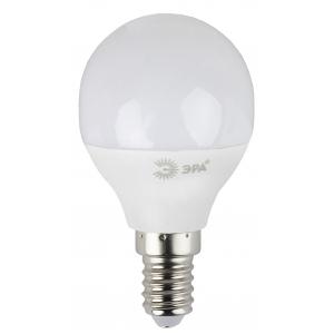 LED P45-7W-827-E14 ЭРА (диод, шар, 7Вт, тепл, E14), (10/100/3000)
