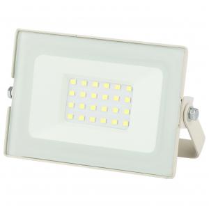 LPR-031-0-65K-020 ЭРА Прожектор светодиодный уличный 20Вт 1600Лм 6500К 122x75x35 белый (80/1440)