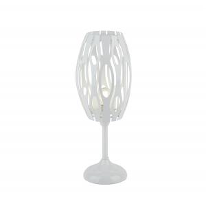 8001-601 Rivoli Rivoli Настольная лампа Profo P1 белый 1*E14 40W (60)