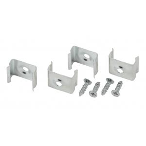 2206-4 ЭРА Набор крепежей для профиля CAB251, 4 шт. (500/24000)