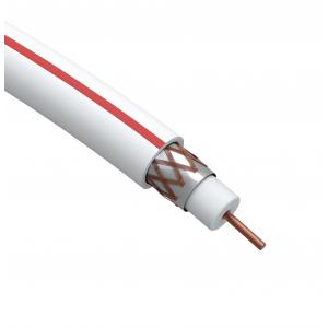 ЭРА Кабель коаксиальный SAT 50 М, 75 Ом, Cu/(оплётка Cu 75%), PVC, цвет белый, бухта 50 м (10/210)