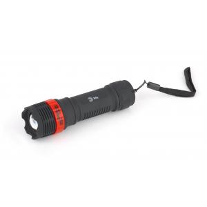 P3W Фонарь ЭРА 3W LED, регулируемый фокус, пластик, 3xAAA, бл (24/144/576)