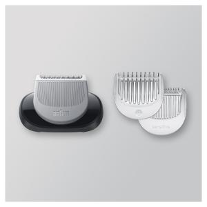 Braun Насадка грумер 06-BDT Black для тела/гребень для чувствительных зон (3/90/1080)