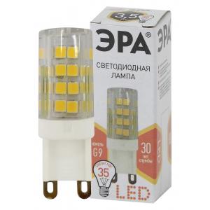 LED JCD-3,5W-CER-827-G9 ЭРА (диод, капсула, 3,5Вт, тепл, G9) (100/1000/30000)
