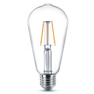Philips LEDClassic 6-60W ST64 E27 830 CL (10/400)