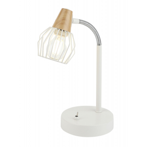 7002-501 Rivoli Настольная лампа Naturale T1 WT 1xE14 40W (10/120)
