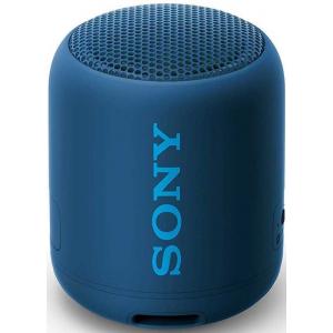 Sony SRS-XB12 Портативная BT аудиоколонка, синяя (400)