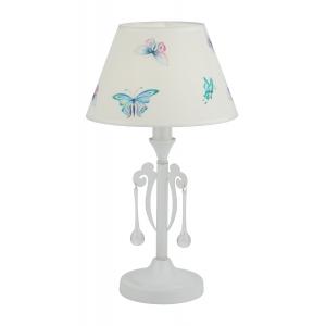 8001-601 Rivoli Настольная лампа Barbara T1 WT 1xE14 40W (36)