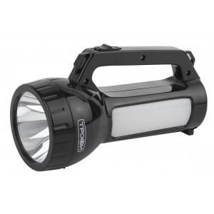 PA-504 Фонарь Трофи прожекторный 1W SMD LED, боковой светильник- 24 SMD LED,  2режима, аккумулятор 4