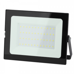 LPR-021-0-65K-050 ЭРА Прожектор светодиодный уличный 50Вт 4000Лм 6500К 183х131х36 (30/540)