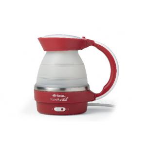 2862 Ariete Чайник дорожный складной. Мощность 750 Вт, объем 0,8 л., цвет красный (8/192)