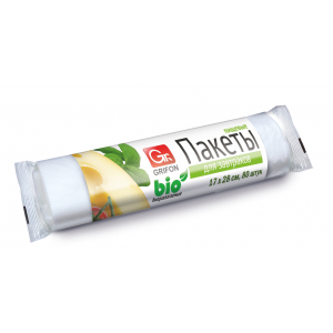 Grifon Пакеты для завтраков Bio , 17 х 28 см,80 шт. в рулоне, в упак. (40/80/5760)