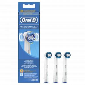 ORAL-B Наcадка EB20 Precision Clean 3 шт (2+1) (12/3000)