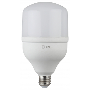 LED POWER T120-40W-6500-E27 ЭРА (диод, колокол, 40Вт, хол, E27) (20/200)