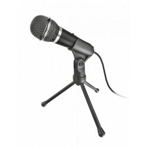 21671 Trust Стрим микрофон Starzz All-round 3.5мм (20/480)