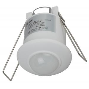 MD 019 Датчик движения ЭРА Датчик движения белый, 800Вт, 360 гр.,6М,IP20, (100/1600)