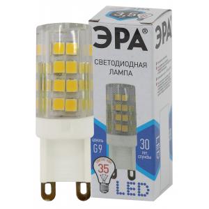 LED JCD-3,5W-CER-840-G9 ЭРА (диод, капсула, 3,5Вт, нейтр, G9) (100/1000/24000)