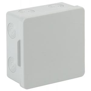 ЭРА Коробка распаячн. открытой установки КОР 100х100х50мм без гермовводов 8 вх. IP54 (60/960)