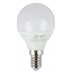 ECO LED P45-6W-827-E14 ЭРА (диод, шар, 6Вт, тепл, E14) (10/100/3600)