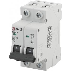 ЭРА Автоматический выключатель NO-902-112 ВА47-29 2P 25А кривая C (6/90/2520)