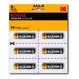 Kodak LR03-12BL perforated (6x2BL) XTRALIFE  [KAAA-2x6 perf] (144/576/43200)