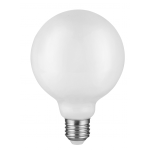 F-LED G95-12w-840-E27 OPAL ЭРА (филамент, шар опал, 12Вт, нетр, E27) (20/560)